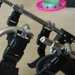 もねさん、車いすを破壊(汗)